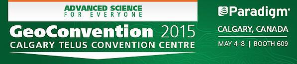 Paradigm at GeoConvention 2015