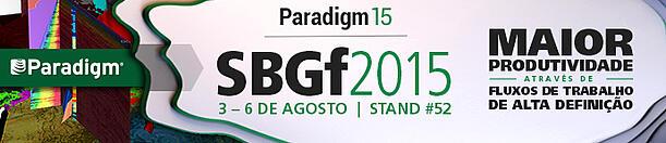 Paradigm at 2015 SBGf