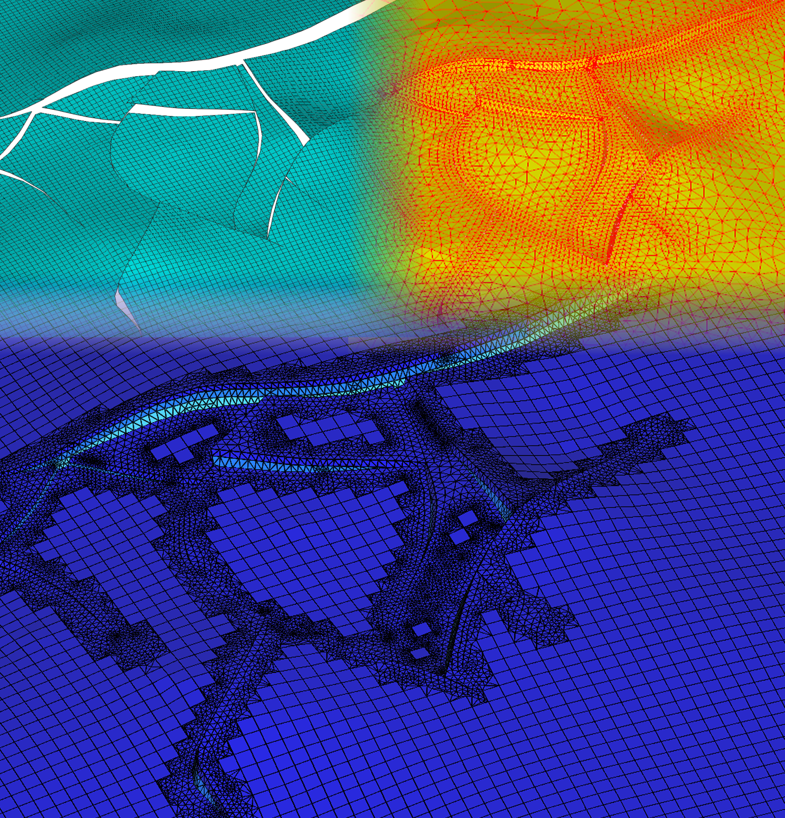 Optimized grids for flow and geomechanical simulations